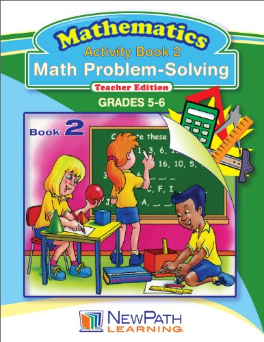 NewPath Learning Math Problem Solving Series Reproducible Workbook, Grade 5-6