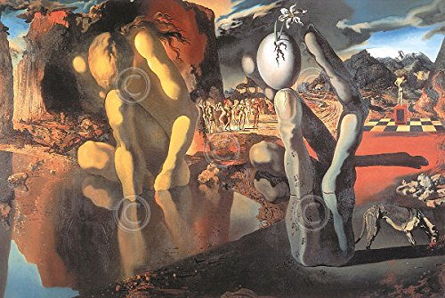 Metamorphosis of Narcissus Salvador Dali Surrealism Abstract Print Poster 11x14 (Salvador Dali Pictures compare prices)