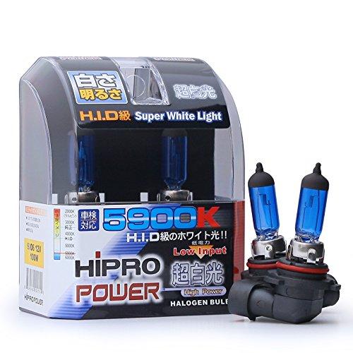 Hipro Power 9006 5900K 100 Watt Super White Xenon HID Fog Light Bulbs (2003 Nissan Altima Fog Lights compare prices)