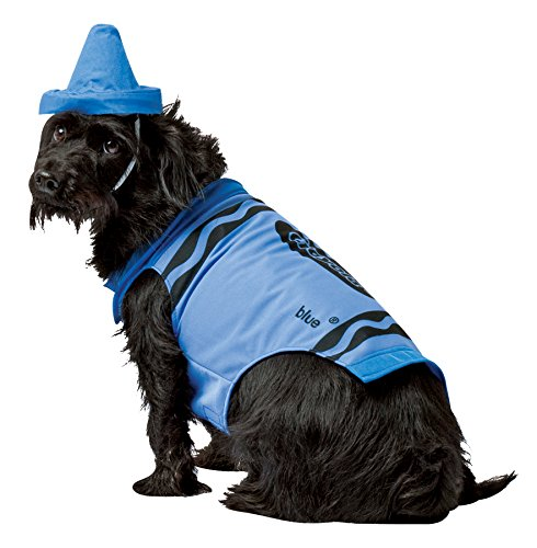 Pet Costume Crayola Blue front-42924
