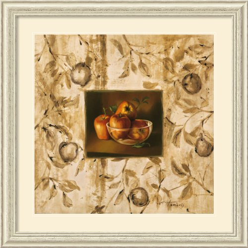 Manzanas En La Mesa By Raul Tamaris Framed back-764185
