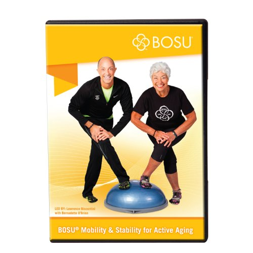 Bosu 72-10866-8DFM Mobility and Stability Fitness DVD