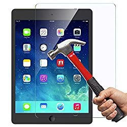 [Scratch Proof]iPad Mini 1 / 2 / 3 Glass Screen Protector, OuTera 0.26mm 9H Tempered Glass Screen Protector for iPad Mini 1 / iPad Mini 2 / iPad Mini 3 New Apple iPad Mini with Retina display