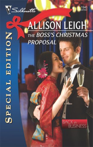 Image of The Boss's Christmas Proposal (Silhouette Special Edition)