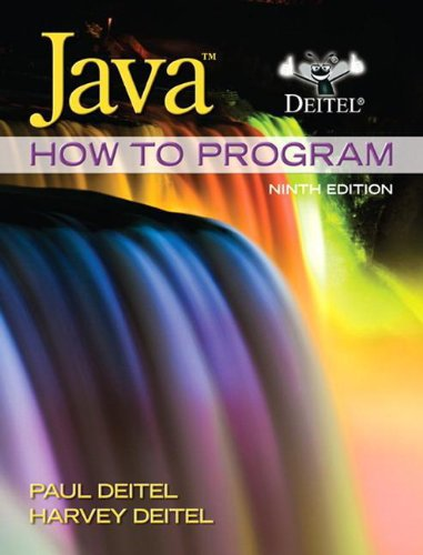 Java: How to Program, 9th Edition (Deitel)