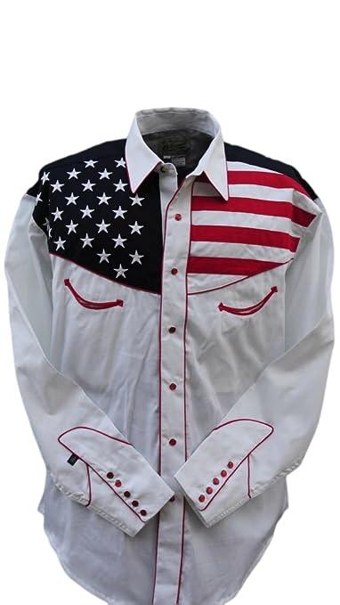 American Flag Shirt Mens