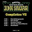 John Sinclair Compilation VII: Band 1730 - 1734 Hörbuch von Jason Dark Gesprochen von: Carsten Wilhelm