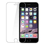 #4: PES Premium Tempered Glass,2.5D Hardness, Ultra Clear Shatter Proof, 9H Hard Screen Protector,Anti-Fingerprints & Oil Stains For Apple Iphone 6 / Apple Iphone 6S