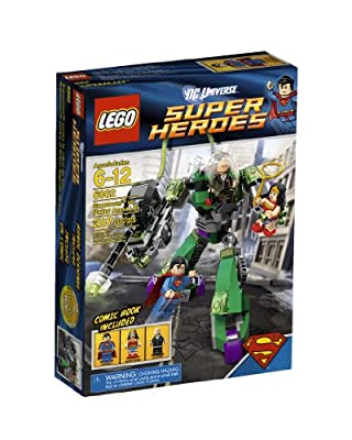 LEGO Super Heroes Superman Vs Power Armor Lex 6862 by LEGO Superheroes