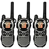 Motorola MT352TPR Giant FRS Weatherproof Two-Way - 35 Mile Radio Triple Pack - Silver