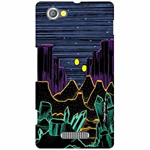 Design Worlds Sony Xperia M Back Cover - ladnscape Designer Case and Covers