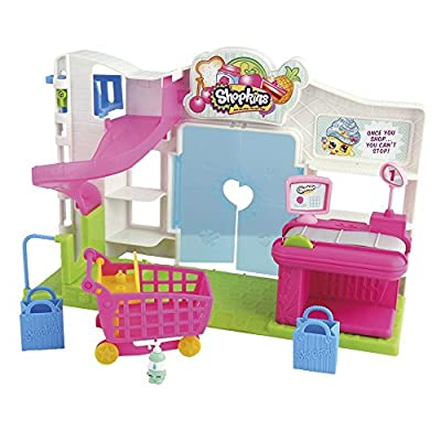 2x Shopkins Small Mart Supermarket Playset