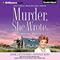 Murder, She Wrote: Domestic Malice Audiobook by Jessica Fletcher, Donald Bain Narrated by Sandra Burr