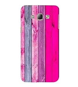 EPICCASE Pink wood Mobile Back Case Cover For Samsung Galaxy A3 (Designer Case)