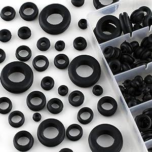 Amazon.com: 180-Piece Rubber Grommet Shop Assortment: Home