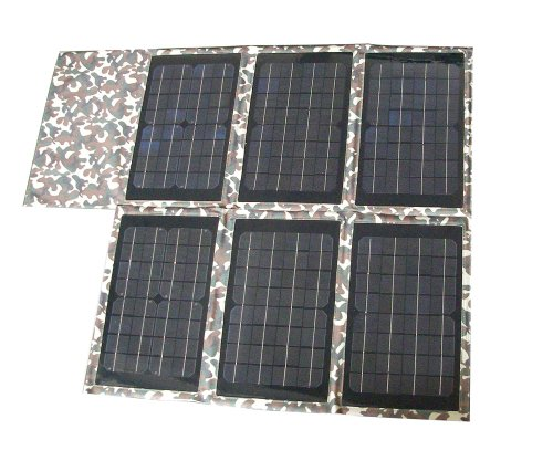 Allpowers 60W Flexible Folding Solar panel USB