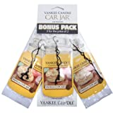Yankee Candle Vanilla Cupcake 3 Pk Car Jars Scented Candle