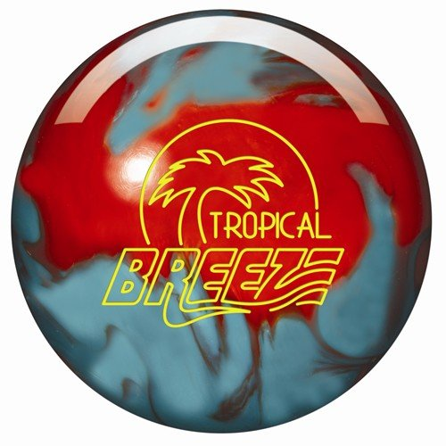 Storm Tropical Breeze Bowling Ball- Orange/Teal Pearl (16lbs) (Storm Breeze Bowling Ball compare prices)