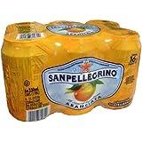 San Pellegrino Aranciata 6 pack, 11.15 oz CANS