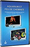 Aquarium & Feu de cheminée 2 DVD (HD)