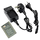 DSTE BLN-1 Replacement Li-ion Battery + Charger DC133U for Olympus BLN1, BCN-1 and Olympus OM-D E-M1, OM-D E-M5, PEN E-P5 Cameras