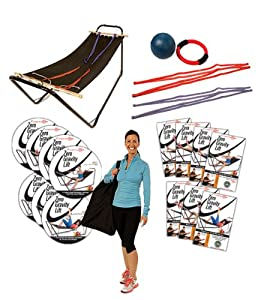 Hammock Chair Bed Total Gym with the Zero Gravity Lift Game Changer Kit. The Couch... by Zero Gravity Total Body Fitness