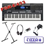 Yamaha Digital Keyboard PSR-E433 With...