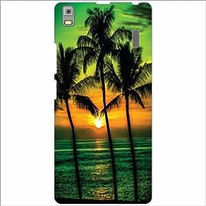 Lenovo A7000 - PA030023IN Back Cover - Silicon Coconut Tree Designer Cases