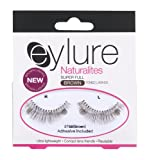 Eylure 075B Naturalites Strip Lashes with 3ml Lashfix Latex Based Lash Glue Brown