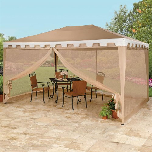 Brylanehome Oversized Rectangular Gazebo