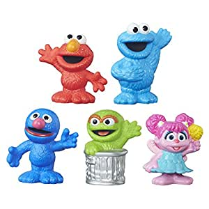 Amazon.com: Playskool Sesame Street Collector Pack 5 ...