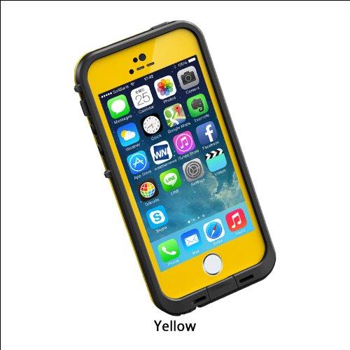 日本正規代理店品・保証付LIFEPROOF 防水防塵耐衝撃ケース LifeProof fre iPhone5/5s Yellow イエロー 2101-08
