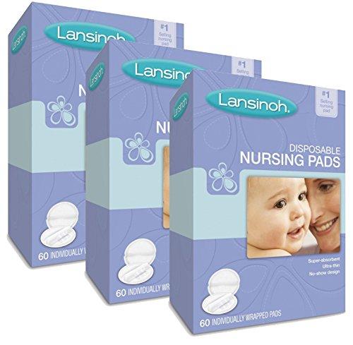 Lansinoh Disposable Nursing Pads, 180 Count