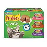 Purina Friskies Pate Adult Wet Cat Food Variety Pack - (2 Packs Of 12) 5.5 Oz. Cans