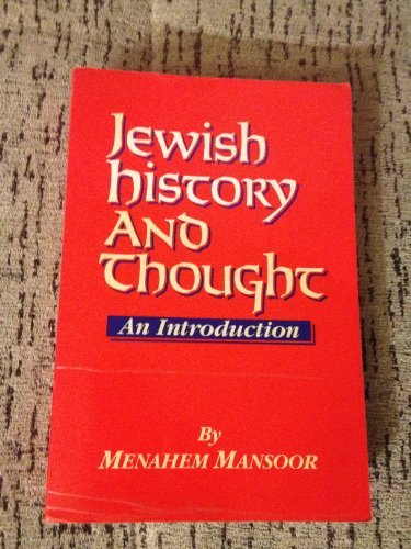 Jewish History and Thought: An Introduction