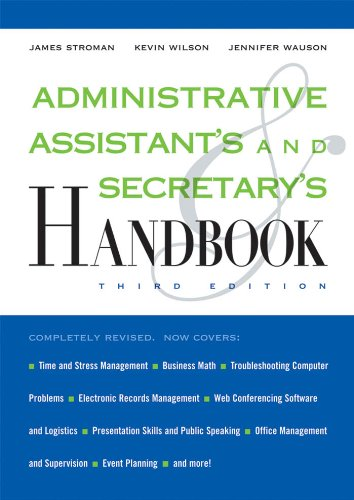 Administrative Assistant's and Secretary's Handbook ~ 3rd Edition