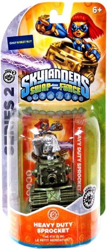 Skylanders SWAP Force Metallic Heavy Duty Sprocket Exclusive Color Variant Character - 1