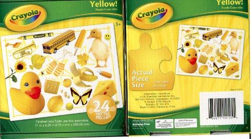 Crayola Puzzle: Yellow! - 24 Piece - 1