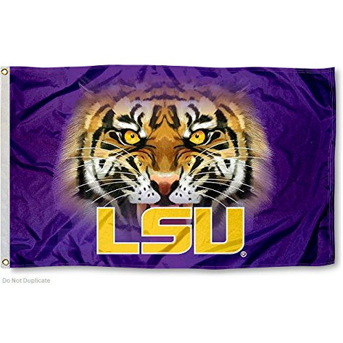 LSU Tigers Tiger Eyes College Flag (Tigers Merchandise compare prices)
