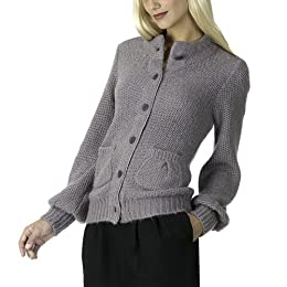 Erin Fetherston Gray Cardigan
