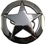 Retro Belt Buckle - Captain America Style Metal 5 Point Star