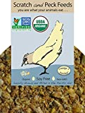 Organic, Naturally Free Starter Chick Feed, 25lbs