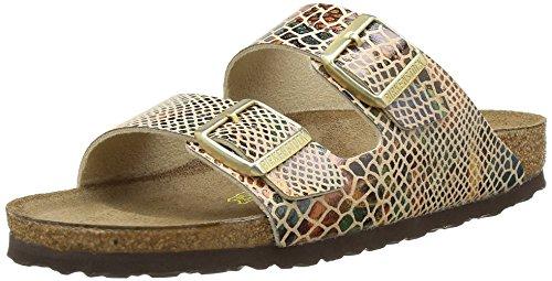 birkenstock-arizona-heels-sandals-donna-multicolore-shiny-snake-sand-38-eu