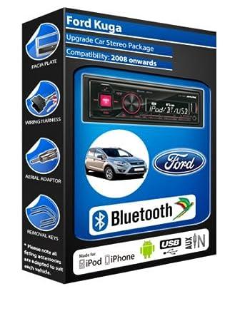 Ford Galaxy Alpine UTE 72BT-kit mains libres Bluetooth de voiture pour autoradio stéréo