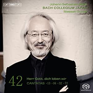 Bach : cantates sacrées vol. 42 BWV 13, 16, 32, 72