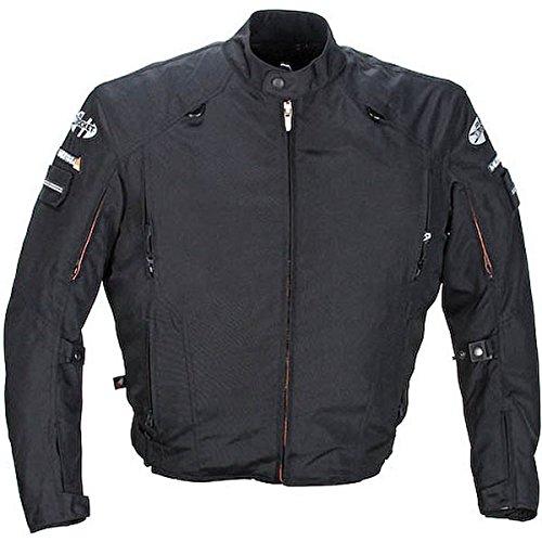 Joe Rocket Recon Military Spec Mens Black Textile Jacket - Large