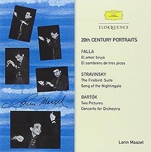 20th-Century Portraits-Falla Bartok Stravinsky by MAAZEL / BERLIN PHIL ORCH (2014-07-08) 【並行輸入品】