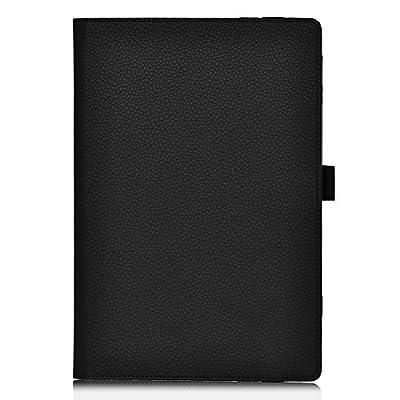 IVSO Slim-Book Hülle Tasche Case Schutzhülle Cover für Asus MeMo Pad HD7 ME572C und ME572CL Tablet PC - mit Standfunction, Handschlaufe und Business-Kartenslot