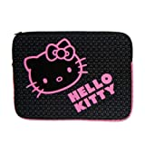 Hello Kitty 9-11'' Laptop Sleeve- Black/Pink Hello Kitty 9-11'' Laptop Sleeve- B