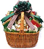 Holiday Season Spectacular Sausage and Cheese Gift Basket | Meat and Cheese Christmas Gift Basket